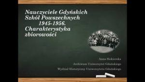 Pierwsza strona prezentacji multimedialnej autorstwa Anny Siekierskiej